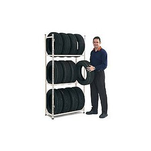 METAL POINT 2 Tire Storage Rack